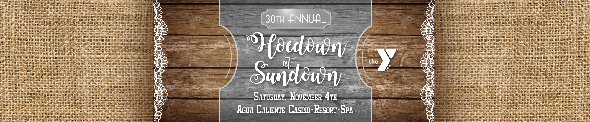 Hoedown at Sundown - Join us Saturday, November 4th