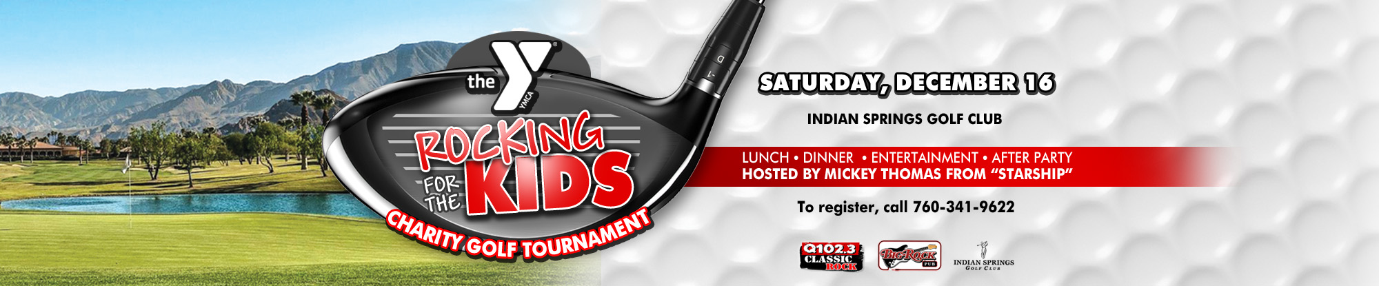 Rocking for the Kids Charity Golf Tournament - December 6th, 2017