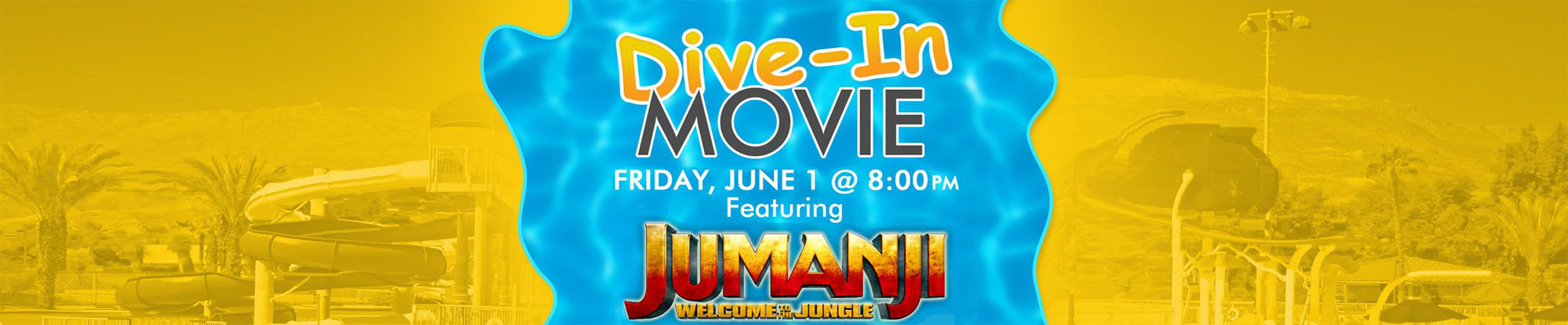 Dive-in Movie: Jumanji