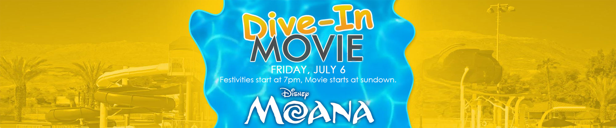 Dive-in Movie: Moana